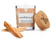Afrodiziakální masážní svíčka MAGNETIFICO sandalwood