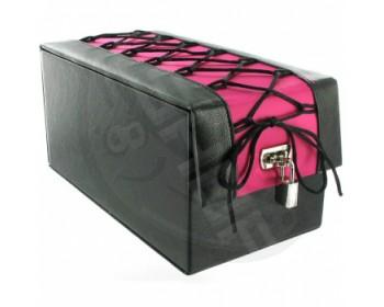 Černo-růžový box na erotické pomůcky Devine Toy Boy