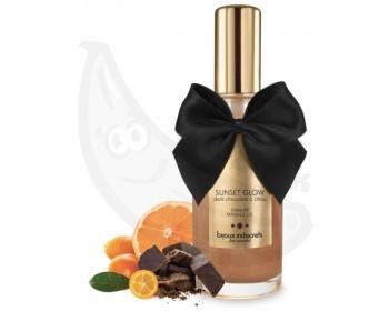 Masážní olej jedlý - hořká čokoláda a citrusy