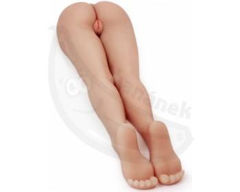 Masturbátor Fuck Me Silly 3 v životní velikosti - zadek a nohy