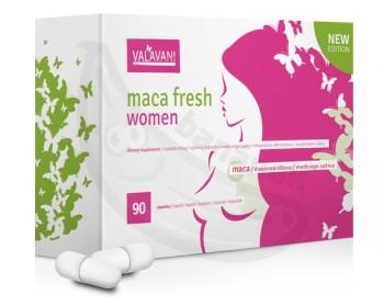 MACA FRESH Women - pro intimní, psychické i fyzické zdraví žen, 90 kapslí